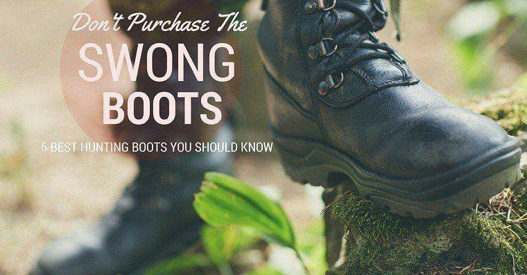 best hunting boots